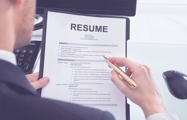 The resume build is the main key for employers to feel interested in hiring you
