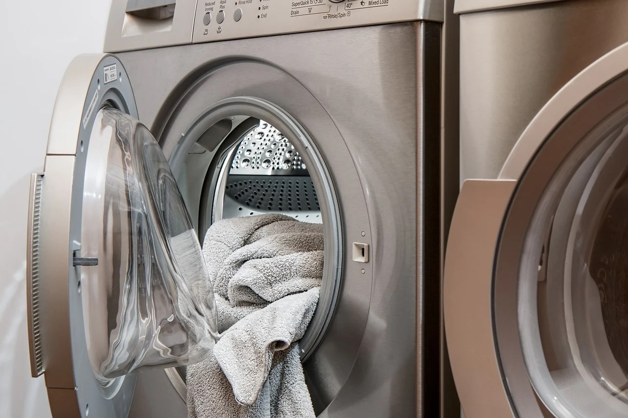 The Combo of Washer and Dryer by LG Electronics