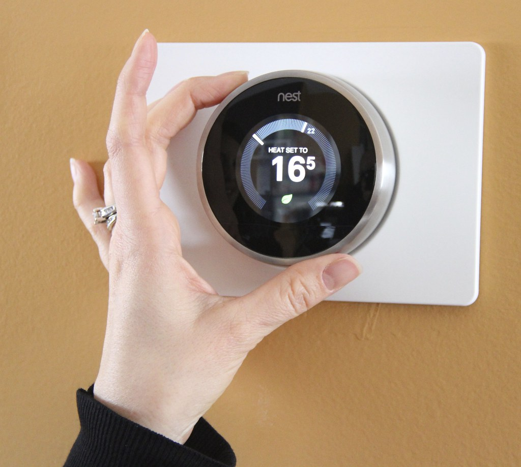 Smart Thermostat With Wi-Fi